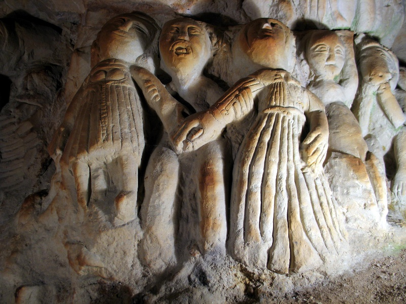 Cave aux sculptures