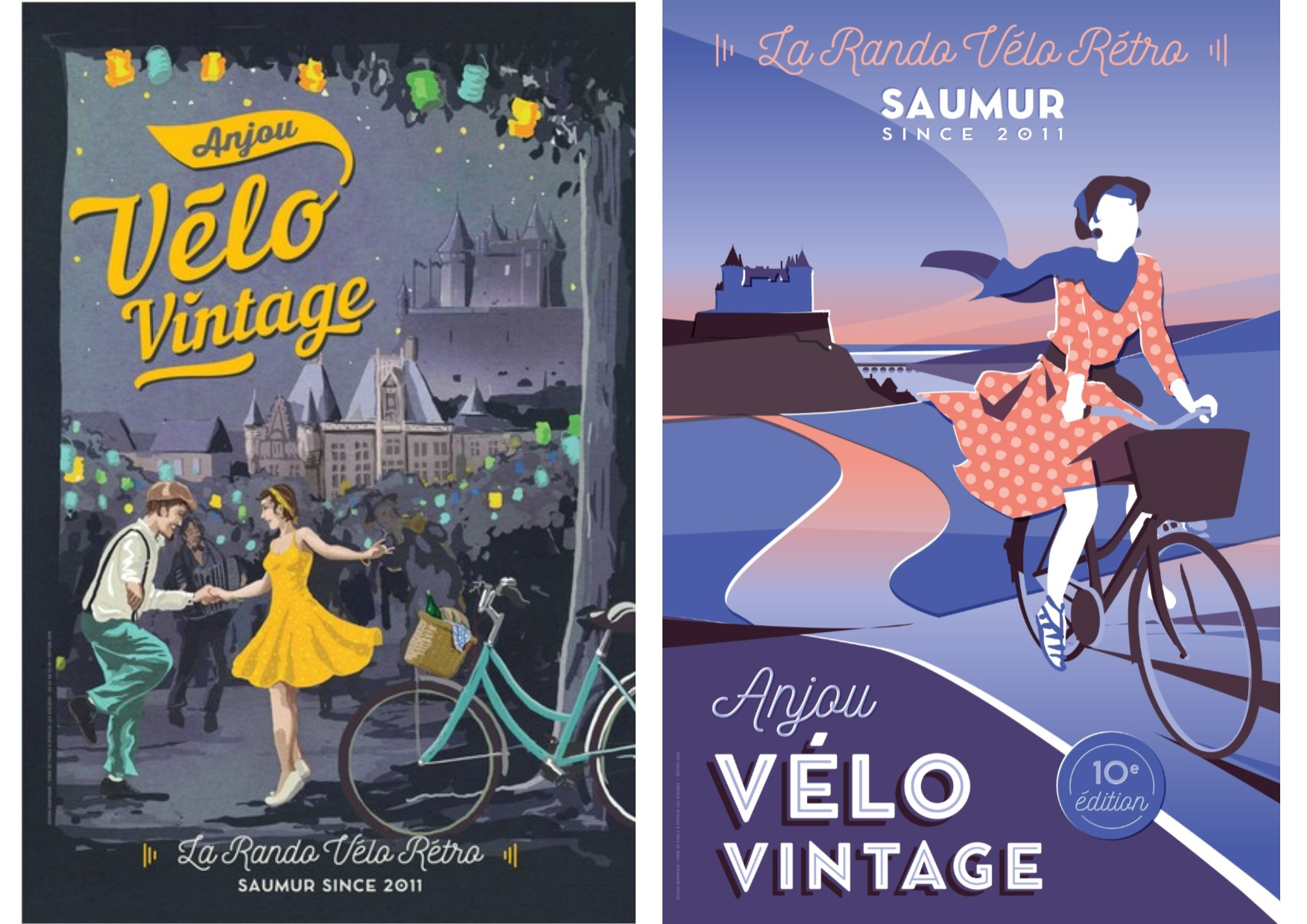 Pack duo affiches Collector 2019 et 2020