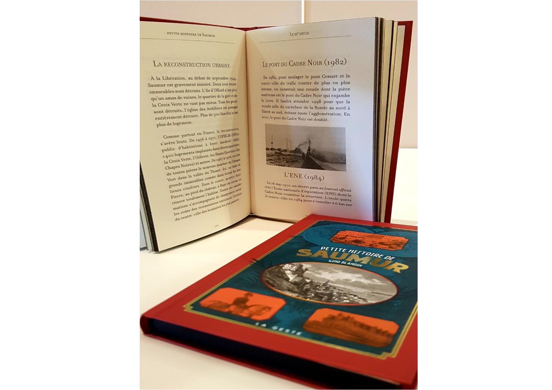Petite Histoire de Saumur de Gino Blandin