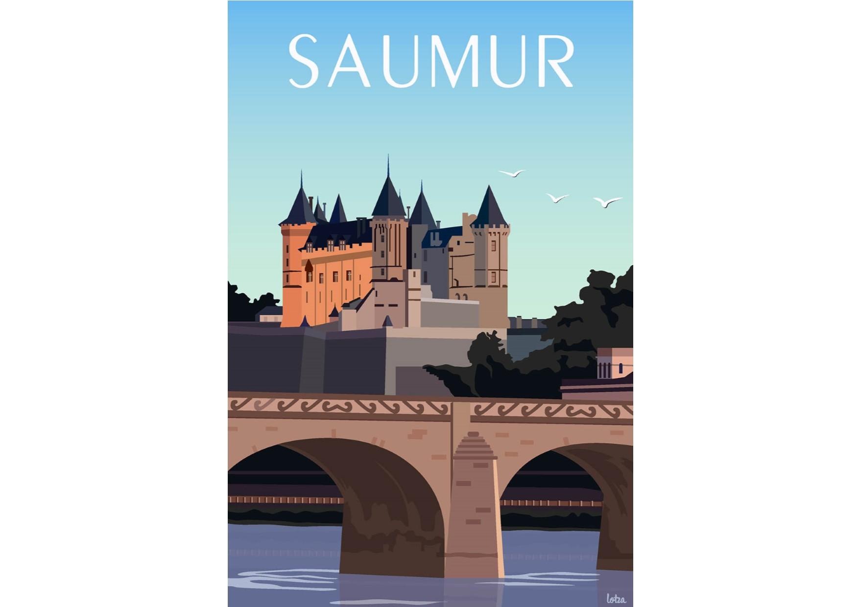 Affiche Saumur - Lotza