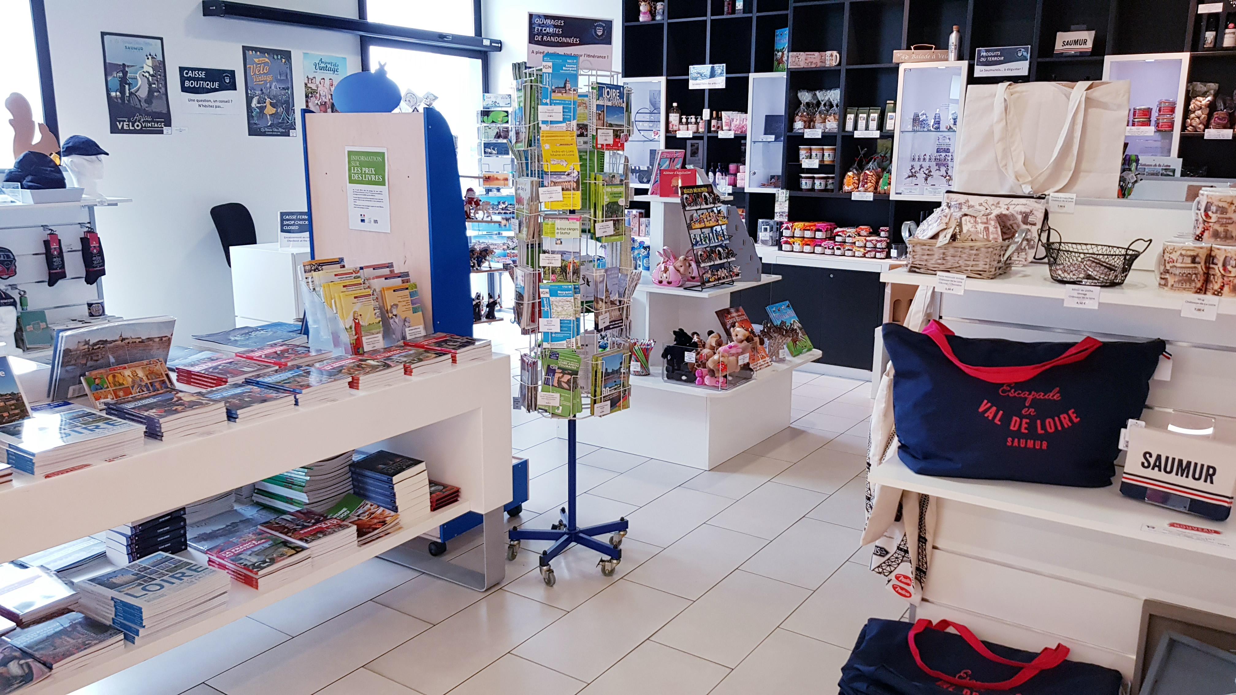 Esprit Saumur, La boutique
